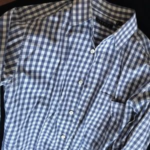 Men's Theory button down shirt size small